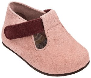 Sapato Infantil Chocalho Rosé/Figo - Mini