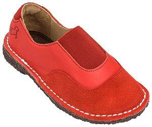 Sapato Infantil Cata-Vento Pitanga/Cereja - Teen