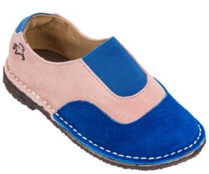 Sapato Infantil Cata-Vento Marine/Rosé - Baby