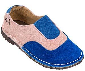 Sapato Infantil Cata-Vento Marine/Rosé - Kids