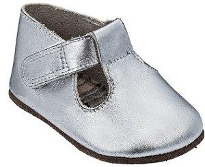 Sapato Infantil Chocalho Prata - Mini