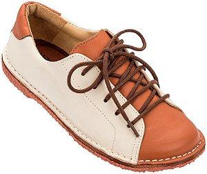 Sapato Infantil Pipa Terra/ Creme