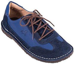 Sapato Infantil Botão Bleu/Marinho