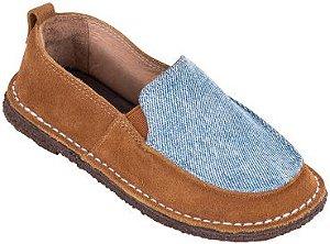 Sapato Infantil Skate Melado/Jeans