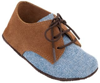Sapato Infantil Balão Jeans/Melado