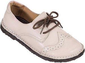 Sapato Infantil Pique-Nique Rosé Couro