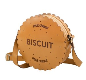 Bolsa Infantil Biscuit Caramelo