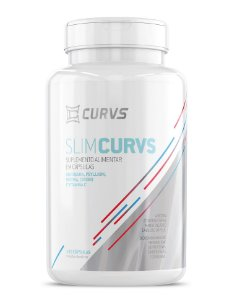 SLIMCURVS - Emagrecedor Natural e Inibidor de Apetite - 120 cápsulas