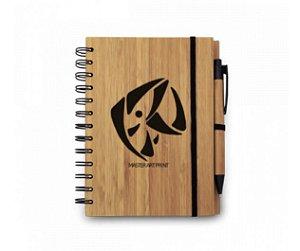 Caderno ECO Bambu - Personalizável