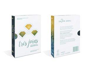 """BOX """"Documentário Três Joias"""" com 3 DVDs e 1 Livro"""