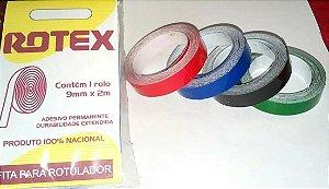 Fita Vinílica Rotex para Rotuladores manuais
