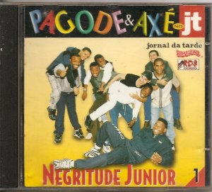 Cd Negritude Junior - Pagode & Axé No JT (1)