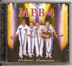 Cd MPB4 ao Vivo - MPB4 os Melhores Momentos