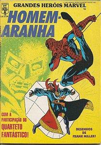 Hq Homem Aranha Nº 18 Grandes Heróis Marvel
