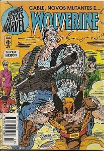"""Hq Wolverine Nº 43 """" Cable, Novos Mutantes"""""""