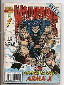 """Hq Wolverine Nº 1 """"A Origem da Arma X"""""""
