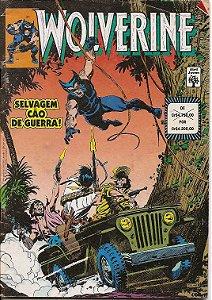 """Wolverine nº 5 """"A Lua do Caçado, Selvagem Cão de Guerra"""""""