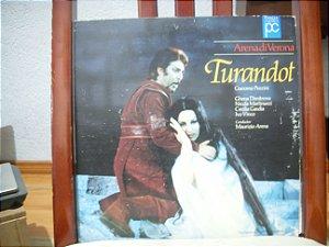(Laserdisc[2]) + catálogo do programa- Arena di Verona Turandot
