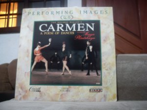 Laserdisc - The Bolshoi Ballets Carmen A Poem Of Dances