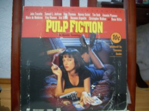 (Laserdisc[2]) -  Pulp Fiction - John Travolta • Samuel L. Jackson