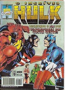 """Hq O Incrível Hulk nº 159 """"Pirataria"""""""