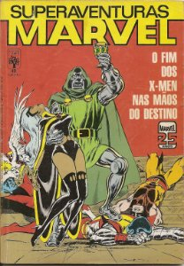 "Hq Superaventuras Marvel nº 48 ""Sequestro"""