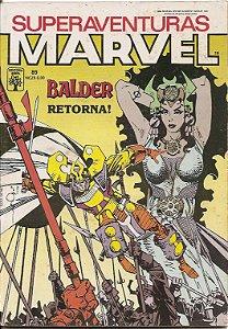 Hq Superaventuras Marvel nº 89 O Poderoso Thor