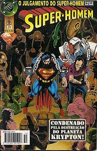 """Hq Super-Homem nº 13 """"O Julgamento do Super-Homem"""""""
