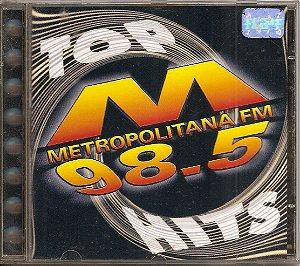 Cd Vários - Metropolitana 98.5 Top Hits