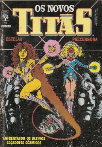 Hq Os Novos Titãs Nº 45 - Cap. Três - Sementes