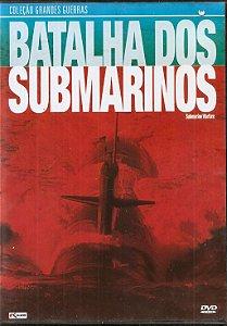 DVD batalha dos Submarinos - Coleção Grandes Guerras