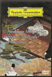 Dvd Puccini Madama Butterfly (madame butterfly) - Freni, Domingo, Ludwig
