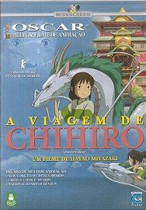 Dvd As Viagens de Chihiro- Hayao Miyazaki