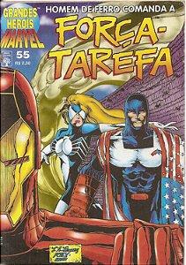 Hq Grandes Heróis Marvel Nº 55 - Força Tarefa