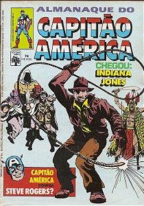 Hq Almanaque do Capitão América Nº 74 - Indiana Jones