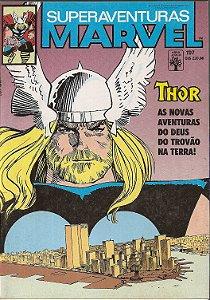 Hq Superaventuras Marvel Nº 107 - Paz Na Terra