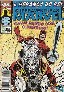 Hq Superaventuras Marvel Nº 158 - Herança do Rei