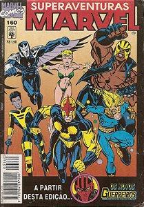 Hq Superaventuras Marvel Nº 160 - As Crianças Roubadas