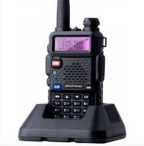 kit 18 Rádios Comunicador Ht Baofeng UV-5R Dual Band Uhf Vhf