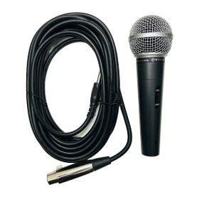 Microfone Dinâmico Profissional WVNGR M-58