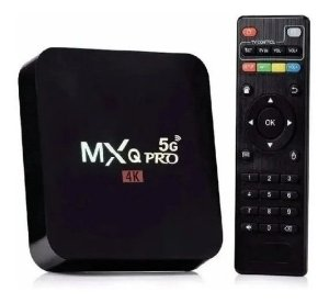 Tv Box Smart MXQ PRO 4k Wifi 5G Android 9.0
