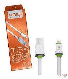 Cabo Dados Usb 1m Lightning iPhone Kaidi Kd306
