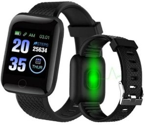 Smartwatch Relógio Inteligente D13 Fit Pro - Preto