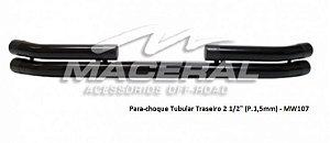 """Para-choque Tubular Traseiro 2 1/2"""""""