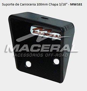 """Suporte de Carroceria Chapa 3/16"""" (Todos os anos)"""