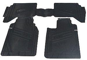 Tapete Colucci S10 cab. dupla 4x4 até 2011 - preto