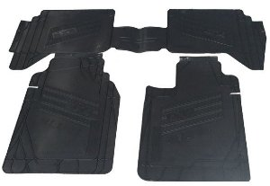 Tapete Colucci para Tracker 4x4 até 2012 - preto