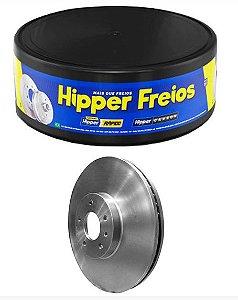 Disco Freio Troller T4 2002 a 2014 Dianteiro Ventilado - Hipper Freios