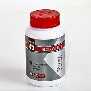 Kokonut Óleo de coco extra virgem - 60 cápsulas