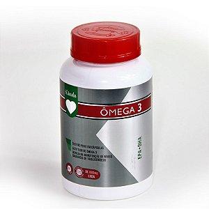 Ômega 3 – Óleo de Peixe - EPA/DHA 1g - Alto teor - 120 cápsulas - KANSLA